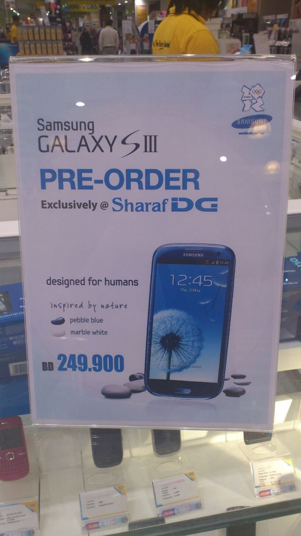 Samsung Galaxy SIII for $666